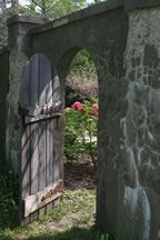 image of garden gate