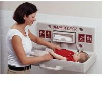 Diaper Deck changing station