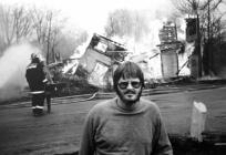 House Fire, Durhamville, NY (1985) by Kevin McGowan