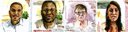 Portraits by Charmaine Wheatley