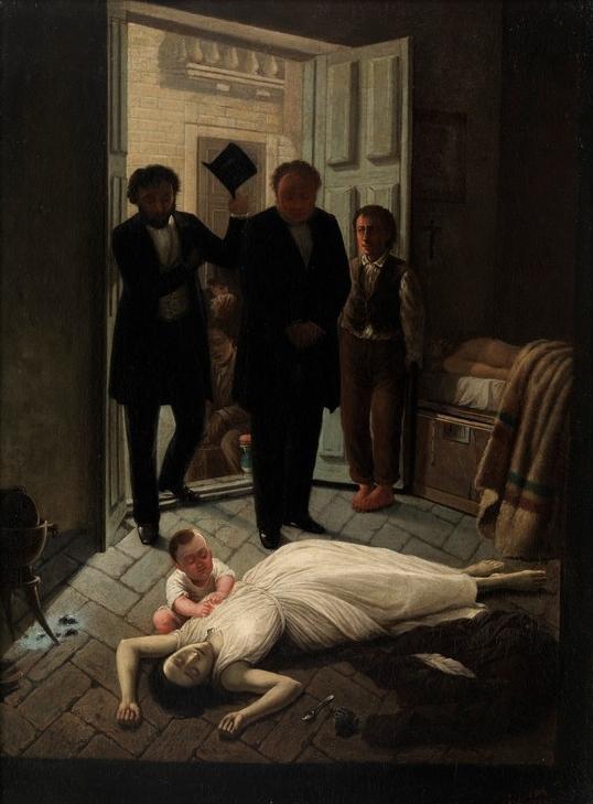 Oil painting by Juan Manual Blanes